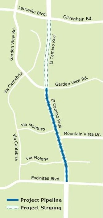 El Camino Real Project Map