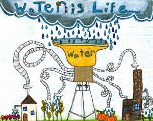 4th-gradeer poster rain harvesting