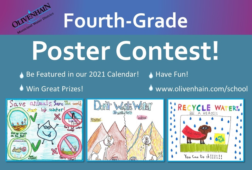 poster contest flyer showing winners from last year